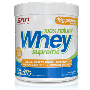 SAN - 100% Natural Whey Supreme 454gr.