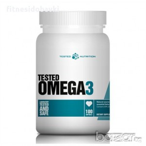 Tested Nutrition - Omega 3 1000mg. / 100 Softgels