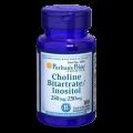 Puritan's Pride -Choline Bitartrate Inositol 250mg 100caps