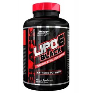 Nutrex - Lipo-6 Black 120caps.