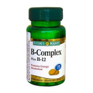 Nature's Bounty - B-Complex+B12 90tabs.