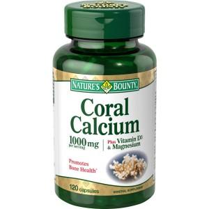 Nature's Bounty - Coral Calcium 1000 mg 120caps.