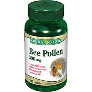 Nature's Bounty - Beepollen 500 mg 100caps.