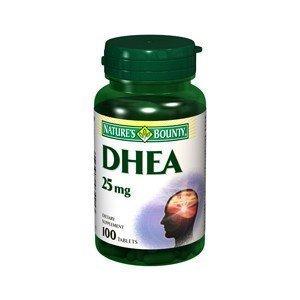 Nature's Bounty - DHEA 25 mg 100tabs.
