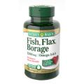 Nature's Bounty - Flax, Fish, Borage 1200mg