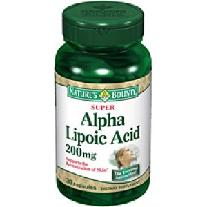 Nature's Bounty - Alpha Lipoic Acid 200 mg 30caps.