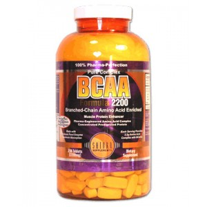 Saturn - BCAA Formula 2200 mg 250tabs.