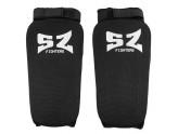 SZ Fighters - Протектор за крака - черен ластик